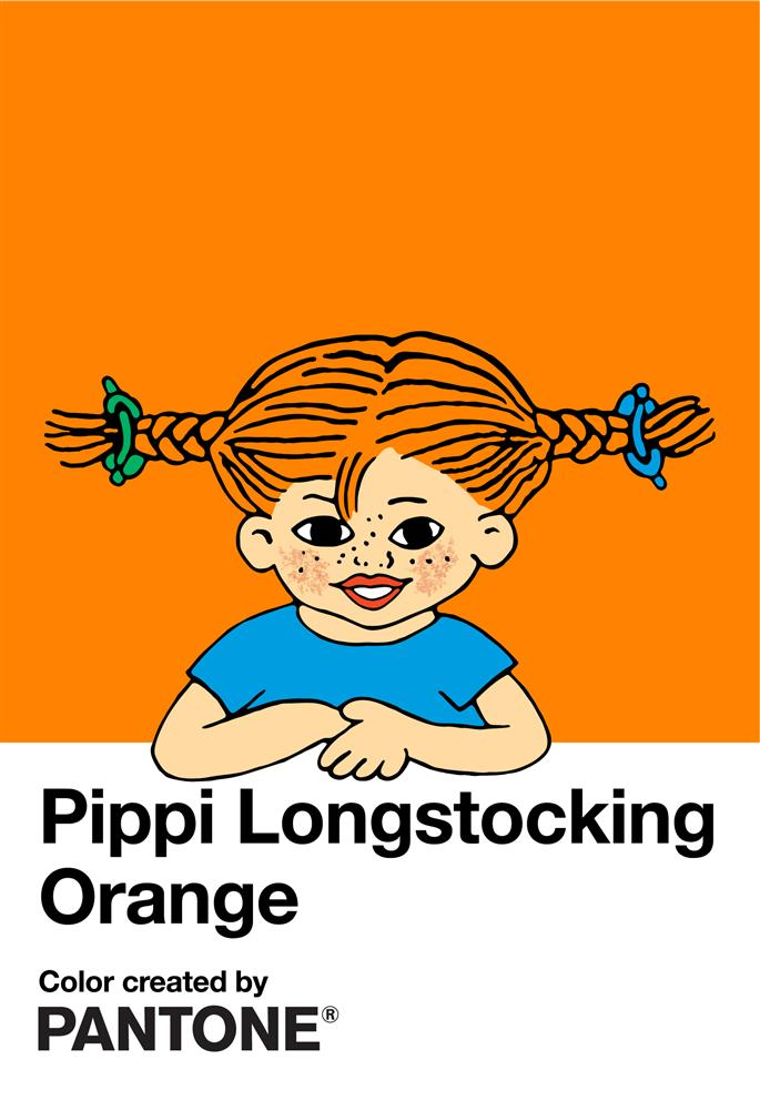 Pippi Longstocking Orange