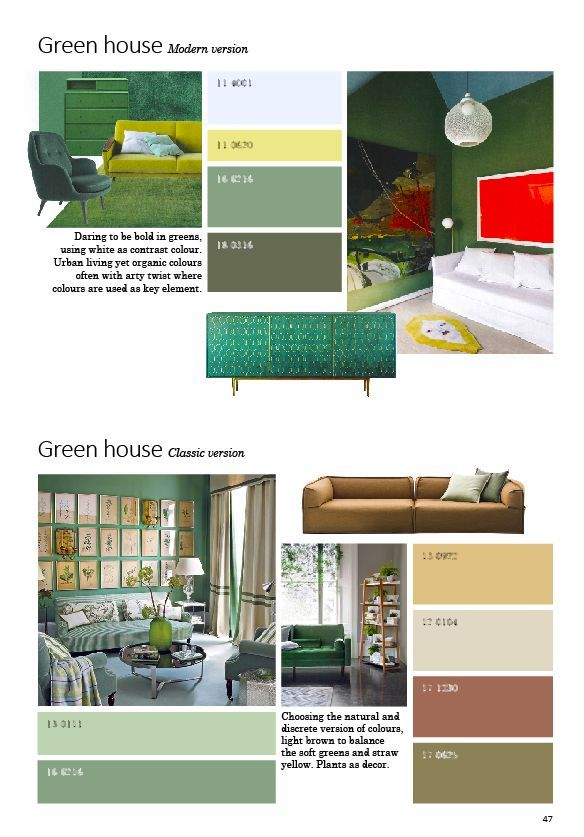NEXT Interior Trend. Coloursystem PANTONE RAL NCS Trendinformation ...