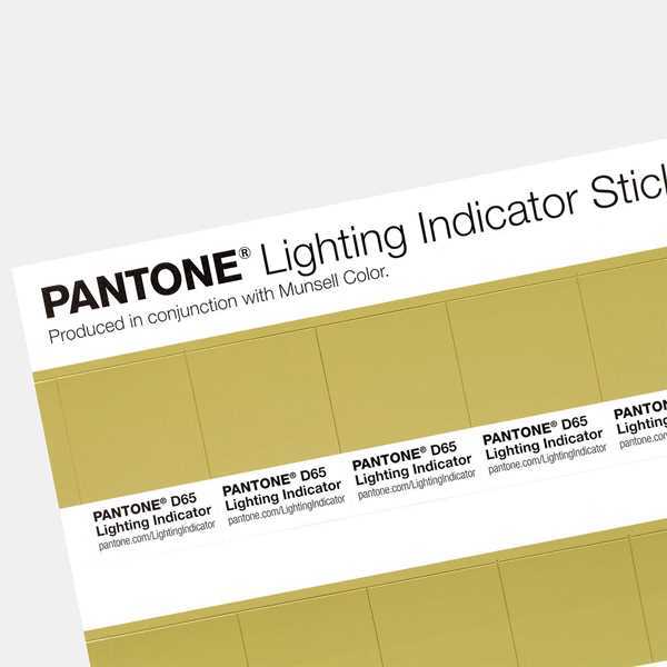 Bild på Lighting Indicator D65