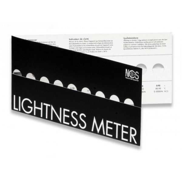 Bild på NCS Lightness meter