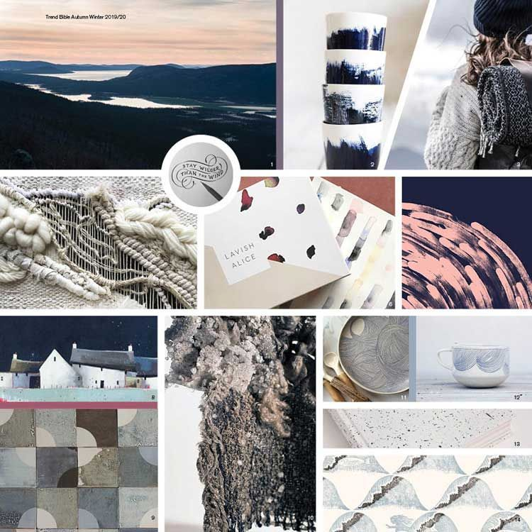 Home Design And Decor Trends To Look Out For In 2018: Trend Bible Home & Interior AW19-20. Coloursystem PANTONE
