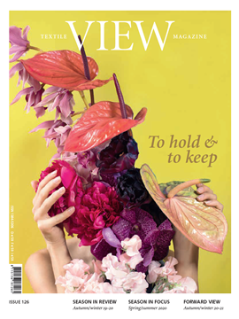 Bild på View Textile Magazin digital