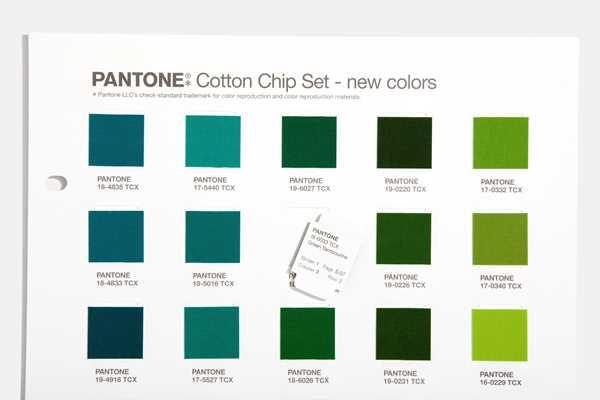 Bild på Cotton Chip Set Update 315 TCX