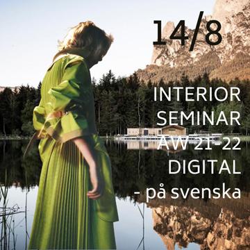 Bild på Online Interiör seminarie fredag 14/8 - SVE