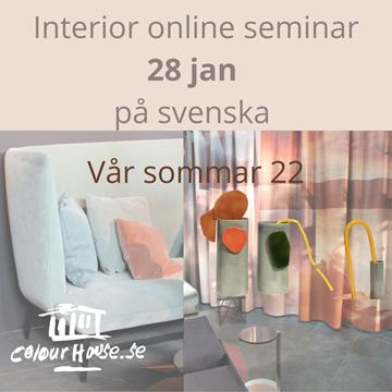 Bild på Online Interiör Sem 28/1 - SVE