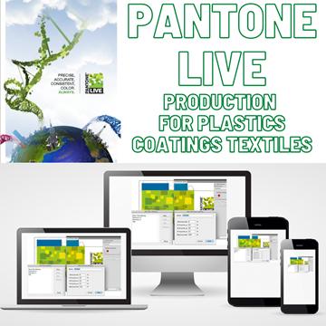 Pantone Live Production Plastics Coatings Textile